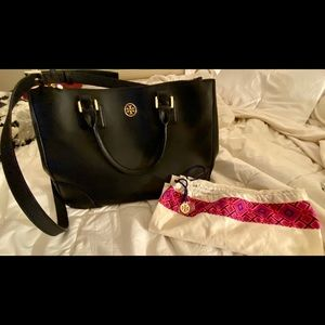 Tory Burch Large Black Bag